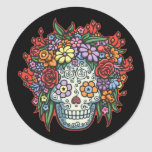 Mujere Muerta Con Gracias II Round Sticker