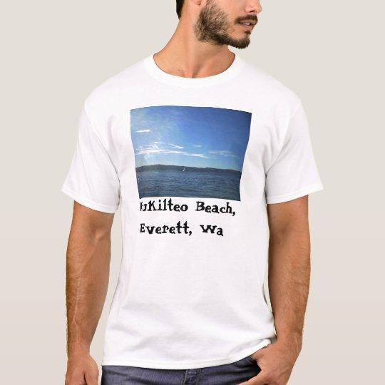 Mukilteo Beach, Everett, Wa T-Shirt