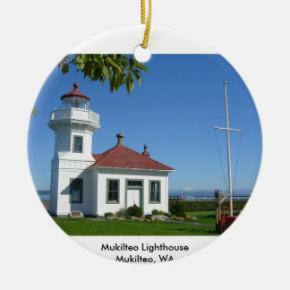 Mukilteo Lighthouse Christmas Ornament