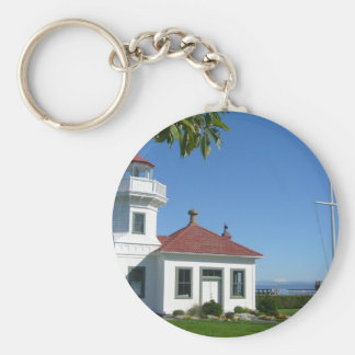 Mukilteo Lighthouse Key Ring