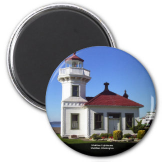 Mukilteo Lighthouse, Mukilteo, Washington Magnet