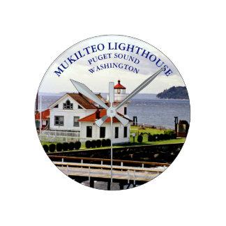 Mukilteo Lighthouse, Washington Clock