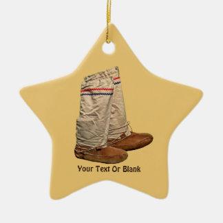 Mukluks Christmas Ornament