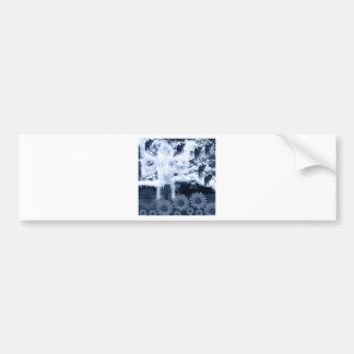 Muko mallow and Asura and Imabari castle Bumper Stickers