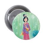 Mulan Princess Button