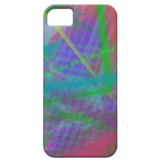Mulberry Day Dream Pastel Color Ricochet Abstract iPhone 5 Case