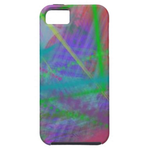 Mulberry Day Dream Pastel Color Ricochet Abstract iPhone 5 Cases