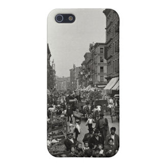 Mulberry Street in New York City, ca. 1900 iPhone 5 Case