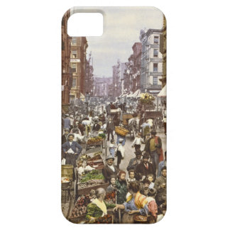 Mulberry Street Market New York City 1900 iPhone 5 Covers