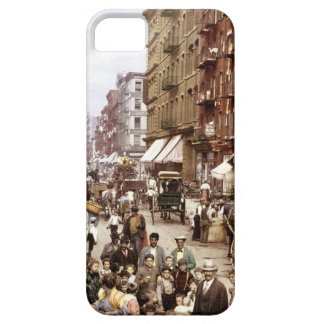 Mulberry Street NYC ca.1900 iPhone 5 Cases