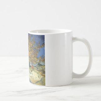 Mulberry Tree by van Gogh Basic White Mug