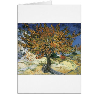 Mulberry Tree by van Gogh Card