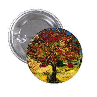 Mulberry Tree Van Gogh Fine Art 3 Cm Round Badge