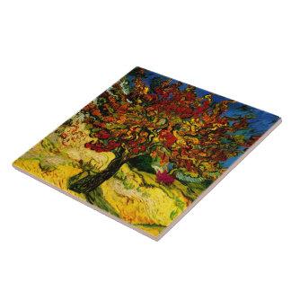 Mulberry Tree Van Gogh Fine Art Large Square Tile