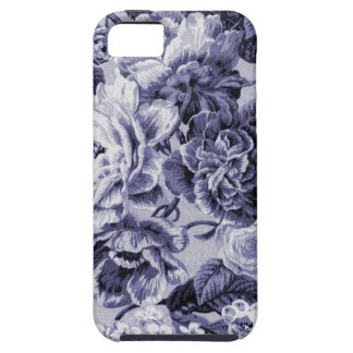 Mulberry Vintage Floral Toile Fabric No.1 Tough iPhone 5 Case