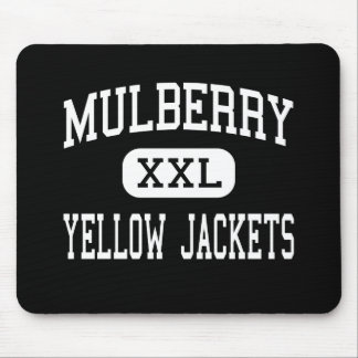 Mulberry - Yellow Jackets - High - Mulberry Mouse Mats