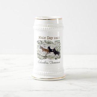 """""""Mule Day 2013: Columbia, Tn."""" Beer Stein Beer Steins"""