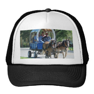 mule day parade mesh hat
