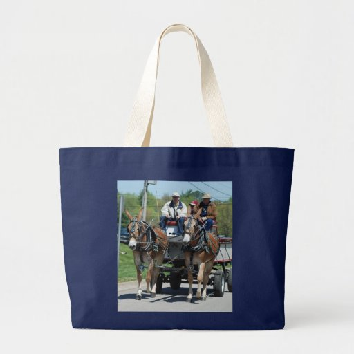 mule day parade in bags