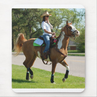 mule day parade in mouse pad