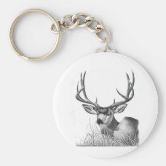 mule deer 88 key ring