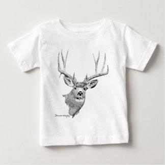 Mule Deer Baby T-Shirt