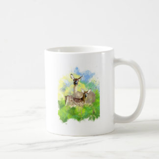 Mule Deer Basic White Mug