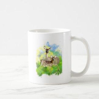 Mule Deer Basic White Mug