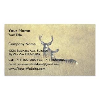 Mule Deer Business Card Templates
