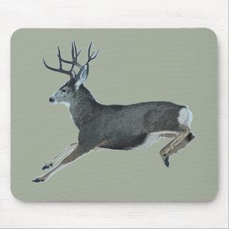 Mule deer motion mouse pad