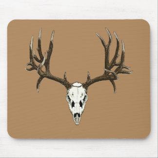 Mule deer skull mouse pads