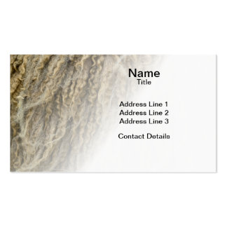 Mule Sheep Wool Double-Sided Standard Business Cards (Pack Of 100)