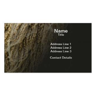 Mule Sheep Wool Pack Of Standard Business Cards