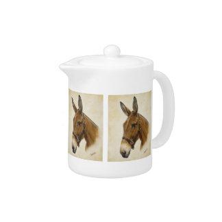 Mule Teapot