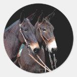 Mule Twosome Sticker