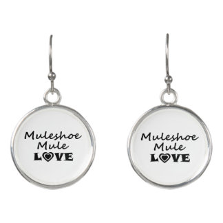 Muleshoe Mule Love Earrings