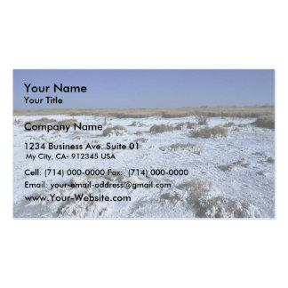 Muleshoe National Wildlife Refuges Business Card Template