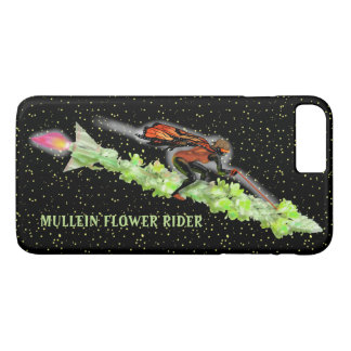 MULLEIN RIDER BUTTERFLY NIGHT by Slipperywindow iPhone 8 Plus/7 Plus Case