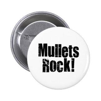 Mullets Rule 6 Cm Round Badge