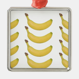 Multi Banana Transparent Christmas Ornament