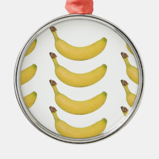 Multi Banana Transparent Christmas Ornament