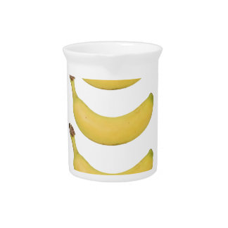 Multi Banana Transparent Pitcher