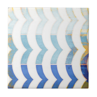 multi blue chevron trendy girly chic fun hipster tiles