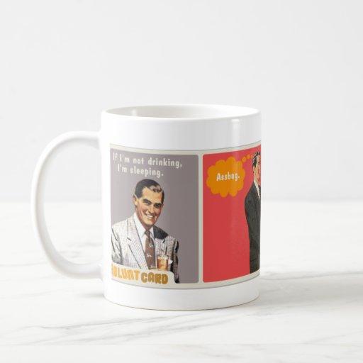 multi card wrap around mug