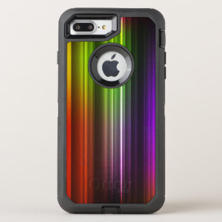 Multi Color Abstract (2) OtterBox Defender iPhone 8 Plus/7 Plus Case