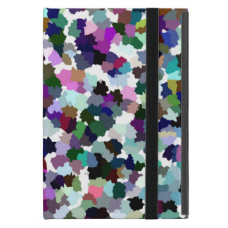 Multi-Color Abstract Crystal Pattern Case For iPad Mini