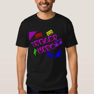 Multi color  Blck T Shirts