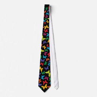 Multi Color Butterflies Tie