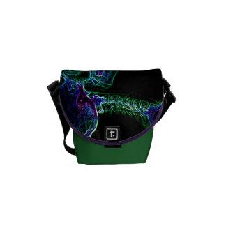 Multi-color C-spine Messenger Bag (Small)