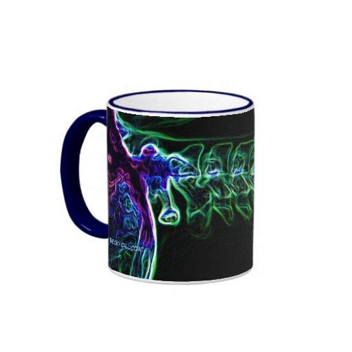 Multi-color C-spine X-ray (no text) mug
